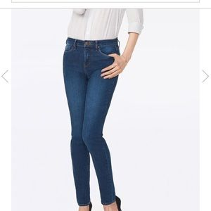 Lift and tuck skinny jeans